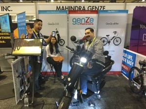 Mahindra Smart Electric Scooter, Bike.. lets go!